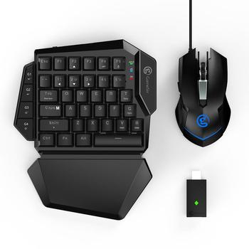 GameSir VX AimSwitch Wireless Keyboard Adjustable DPI Mouse Combo For Consoles Play FPS Games For PS4/ PS3/Xbox One/Switch/PC