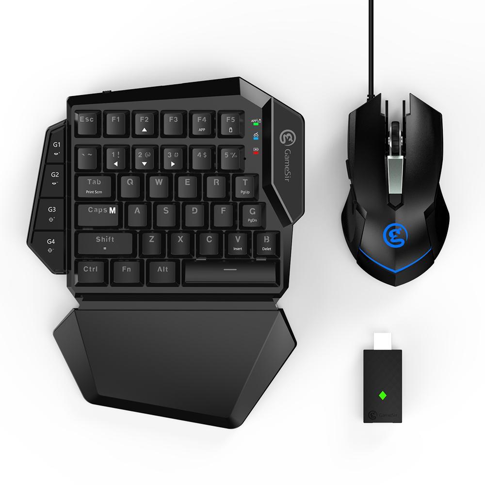 GameSir VX AimSwitch clavier sans fil souris DPI réglable Combo pour Consoles jouer à des jeux FPS pour PS4/PS3/Xbox One/Switch/PC