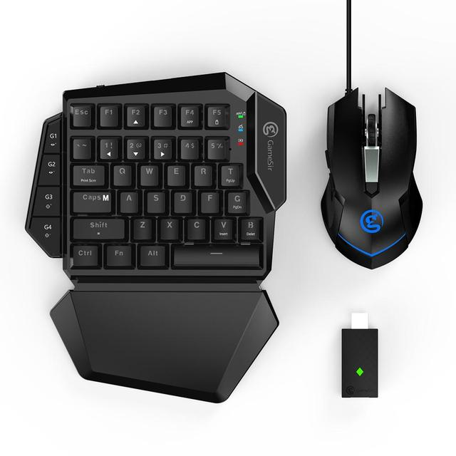 Gamesir VX Aimswitch Keyboard Nirkabel Adjustable DPI Mouse Combo untuk Konsol Bermain Game FPS untuk PS4/PS3/XBOX satu/Switch/PC