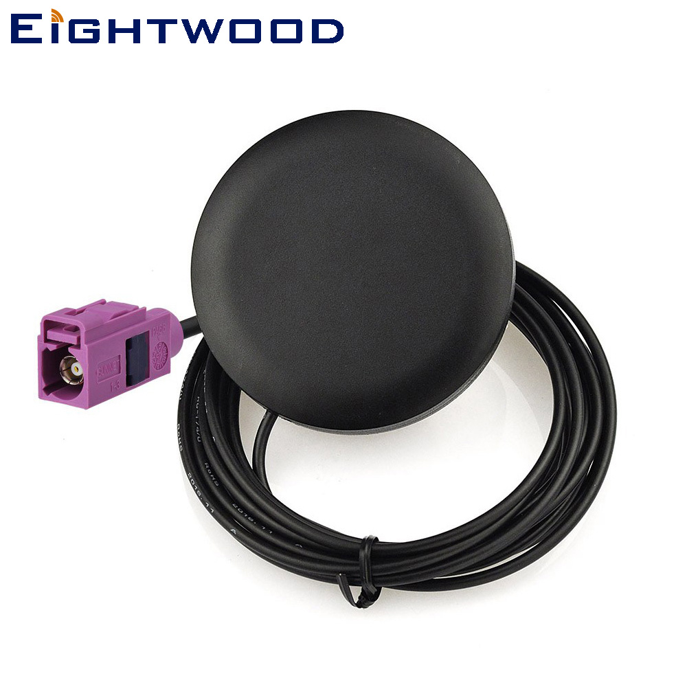 Eightwood 2320-2345 MHz Car AUTO Satellite Radio Antenna Fakra H Violet Jack Connector Aerial for Sirius XM Radio Stystem