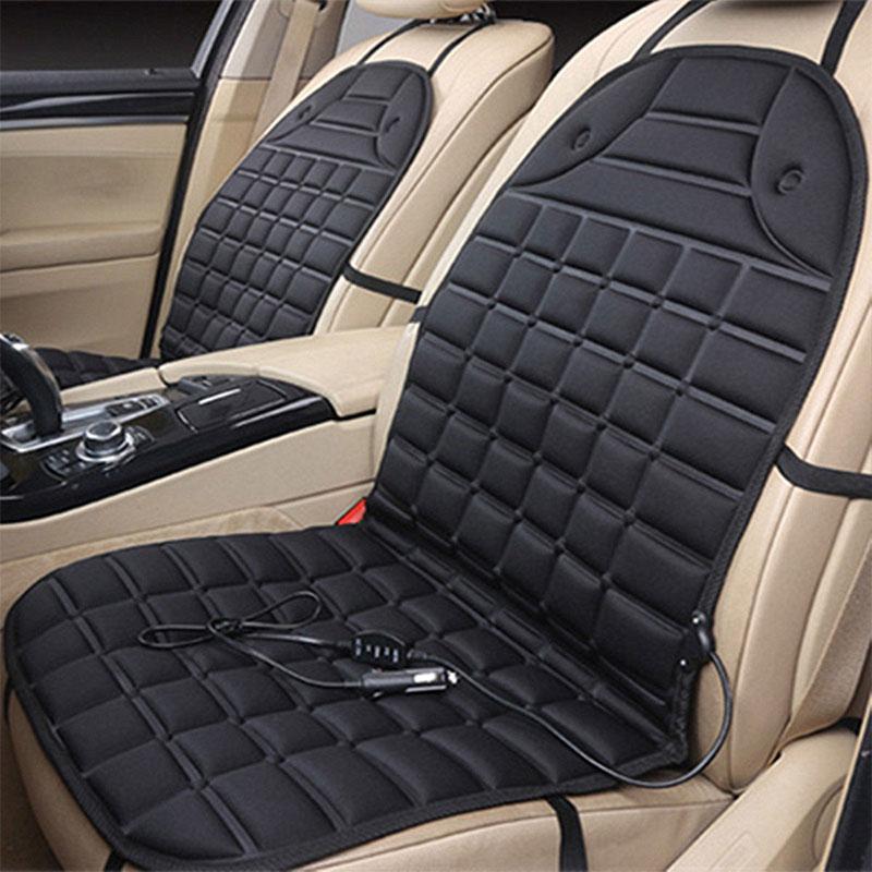 Universal 12V Thicken Car Seat Cushion Auto Seat Cushion Comfortable Seat Cushion Warmer Control