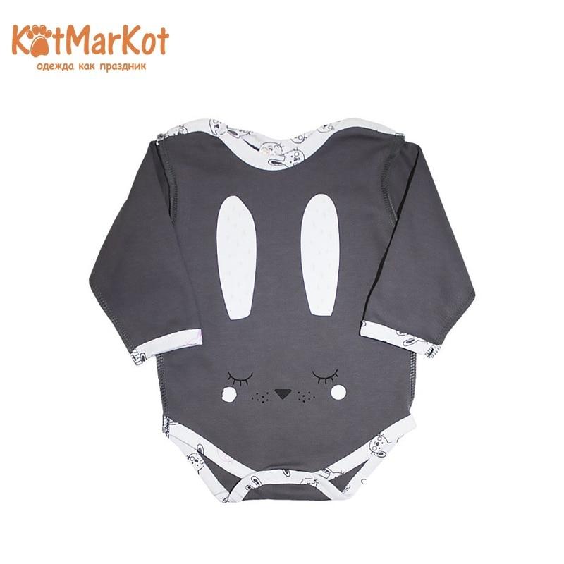 Bodysuit Kotmarkot 9579  children clothing for baby boys kid clothes bodysuit baby