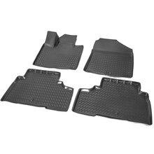 Для Kia Sorento Prime 2015-2019 3D коврики в салон 4 шт./компл. Rival 12804002