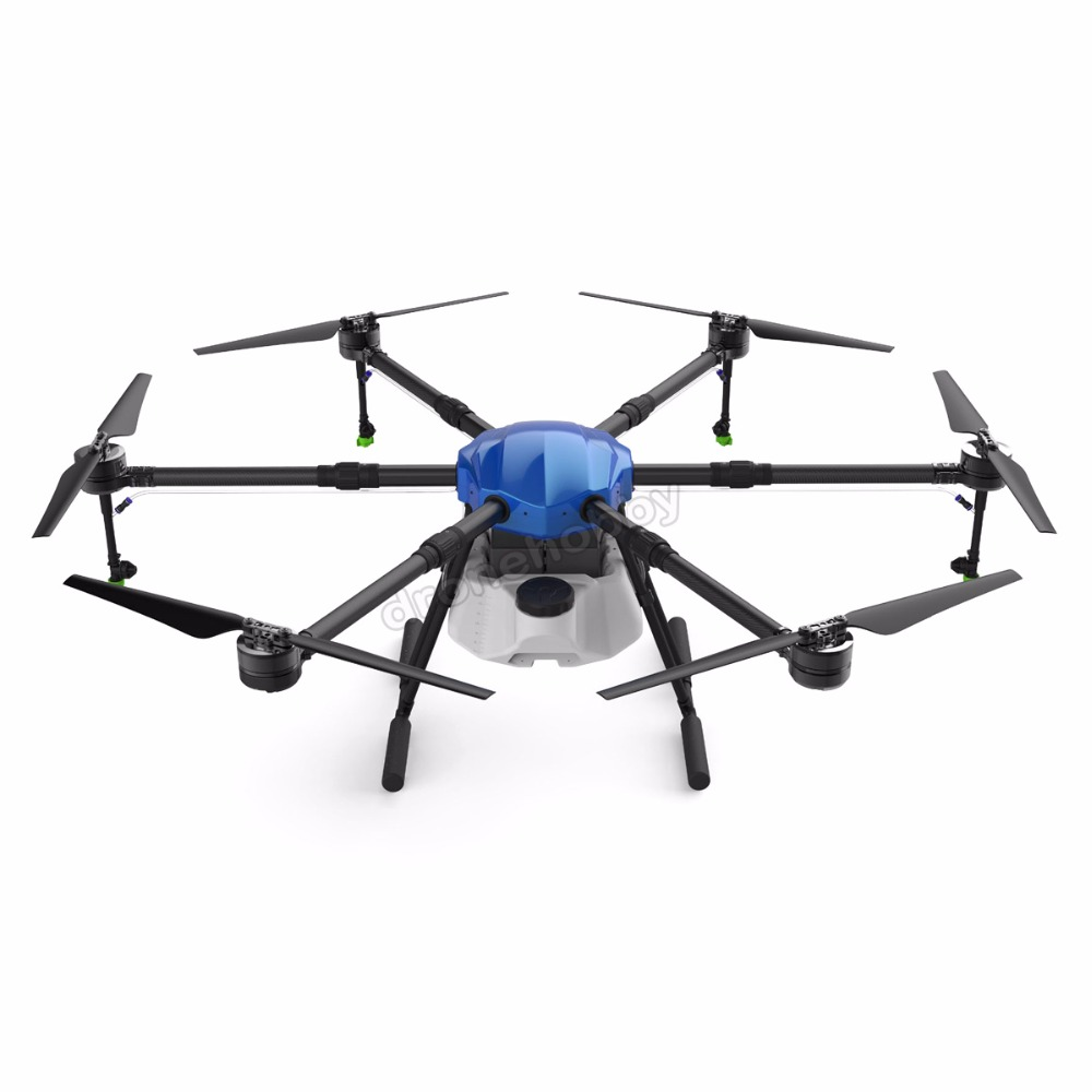 6-axis waterproof Spray Agriculture drone w/16L Large Load Tank spraying system 1630mm Wheelbase Folding UAV 16KG Hexacopter 4 axis waterproof spray agriculture drone frame w 10l tank spraying system 1300mm wheelbase folding uav 10kg hexacopter