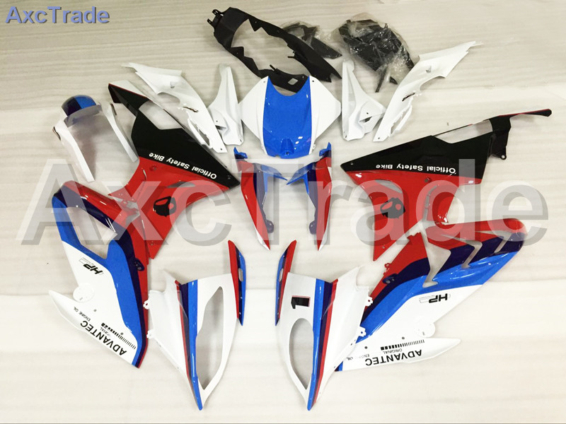 Motorcycle Fairings For BMW S1000RR S1000 2015 2016 15 16 ABS Plastic Injection Fairing Bodywork Kit Blue Red Black A475 motorcycle blue bodywork kit fairing for bmw s1000rr s 1000 rr s 1000rr 2015 15 injection mold fairings cowl set uv painted