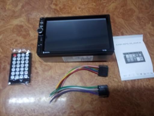 Reprodutor multimídia automotivo estéreo screen backup