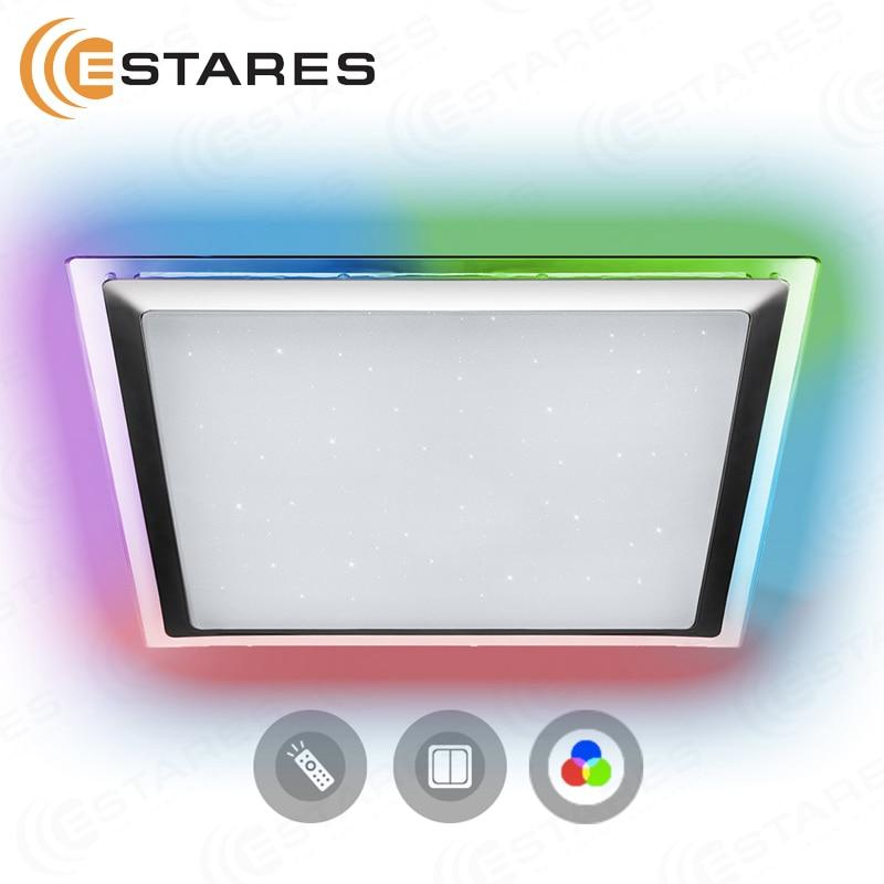 Estares Управляемый светодиодный светильник ARION 60W RGB S 542 SHINY 220V IP44 Потолочные лампы    АлиЭкспресс
