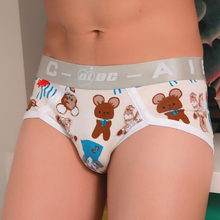 f5a40b95a4 Briefs men cartoon Fashion jockstrap Boy Novelty Underpants Men sexy panties  New Cotton print underpants Underwear