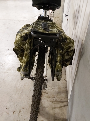 Cestos e bolsas p/ bicicleta estrada mountain pannier