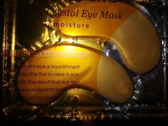 EFERO 5pair=10pcs Eye Mask Collagen Gold Eye Mask Under Eye Pad Dark Eye Circles Anti Aging Eyelid Patch Moisturizing Face Masks