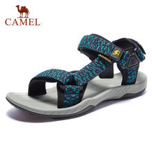 CAMEL Men's Sandal New Wading Men Shoes Lightweight Breathable Non-slip Outdoor Sandals Beach Shoes Rebound Cushioning(China)