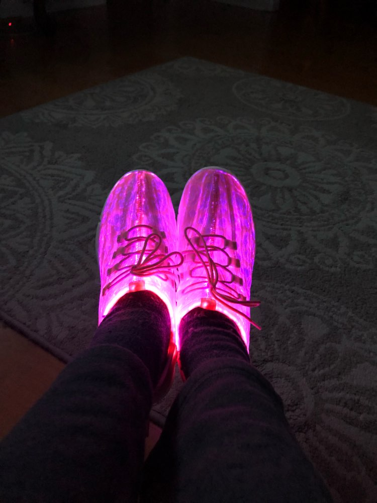 LUMI™ Light Up Shoes photo review