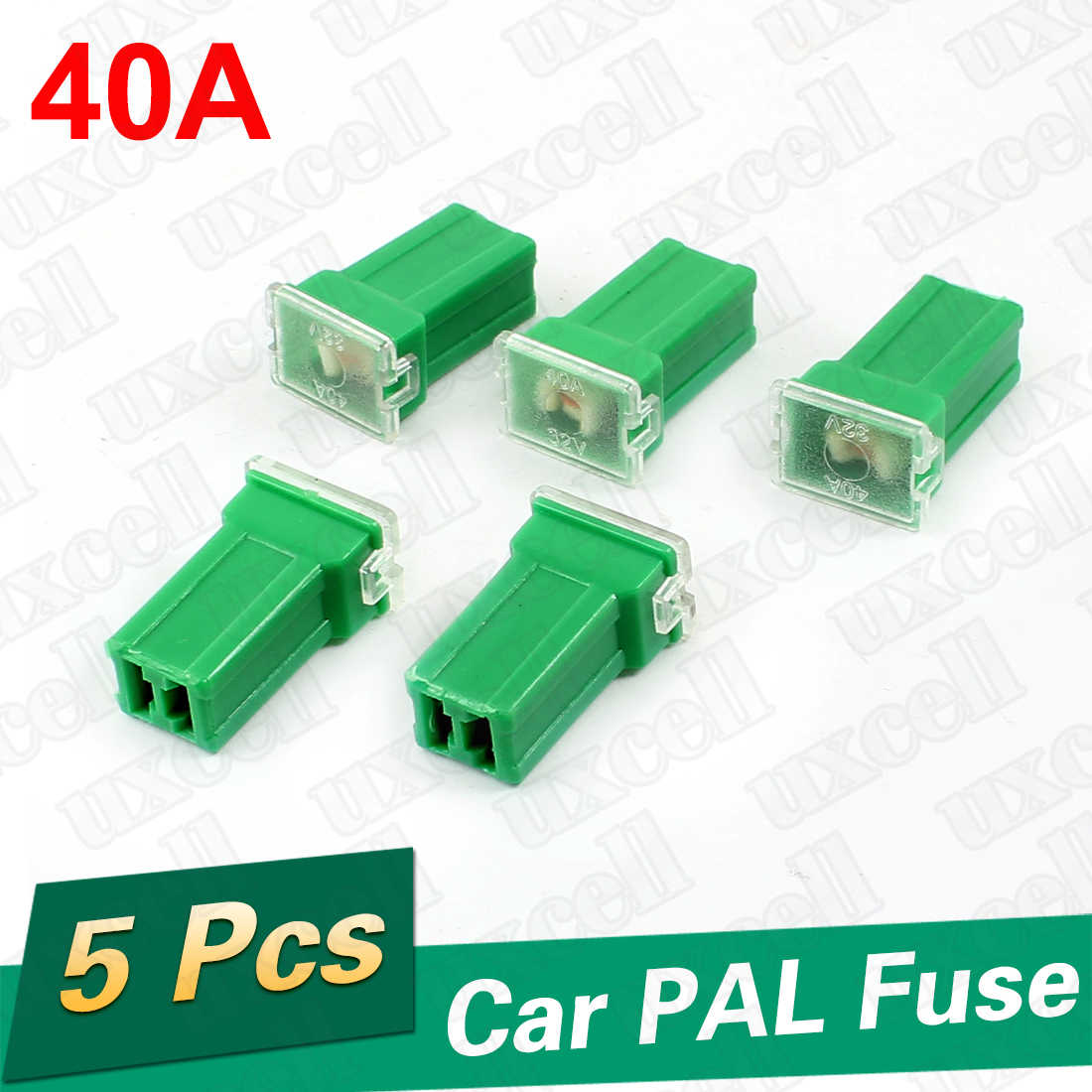 uxcell 13cm Car Speaker Wire Wiring Terminal Adapter Harness Connector Green 20Pcs