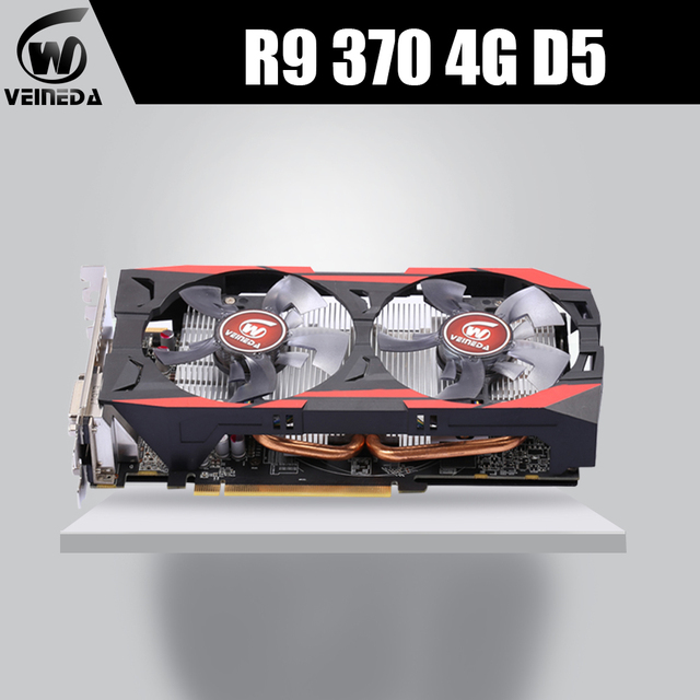 R9 370 4GB 256Bit GDDR5 graphics card Gaming GPU Video Card Radeon R9 370 Graphics Cards For AMD Video Cards Map HDMI PCI-E X16