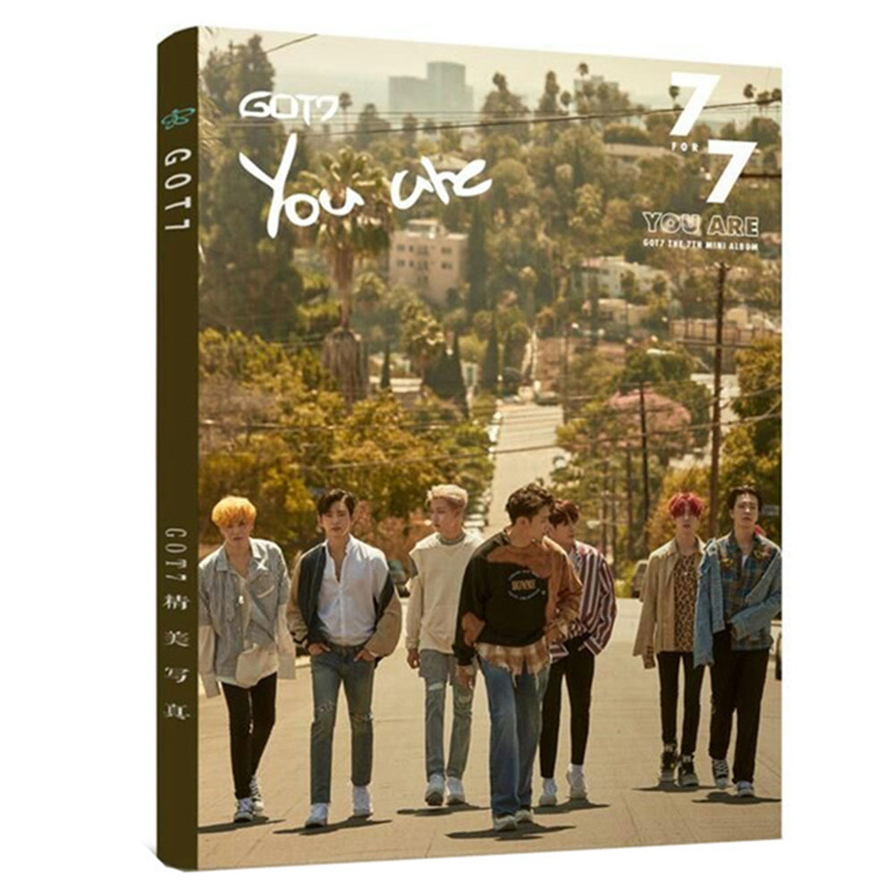 2018 1set new super star Fan GOT7 JB Mark Jackson Album Fly Photocard Photo Gallery Stationery Set YOU ARE got7 got 7 mark autographed signed photo flight log arrival 6 inches new korean freeshipping 03 2017