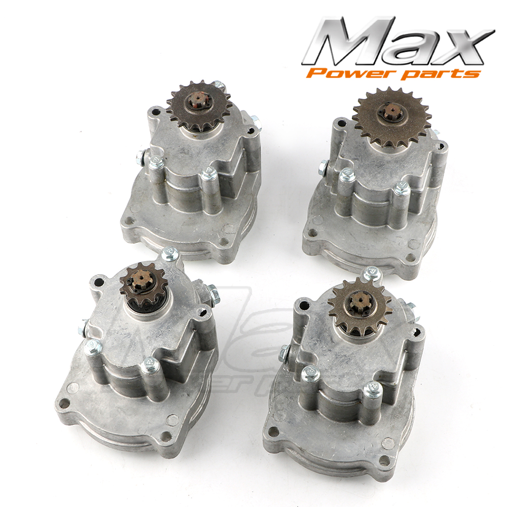 11T 14T 17T 20T T8F Gear Box Clutch Drum Bell Housing for 47cc 49cc Mini Pocket Dirt Bike ATV 11t reduction gear box dual sprocket single sprocket for 47cc