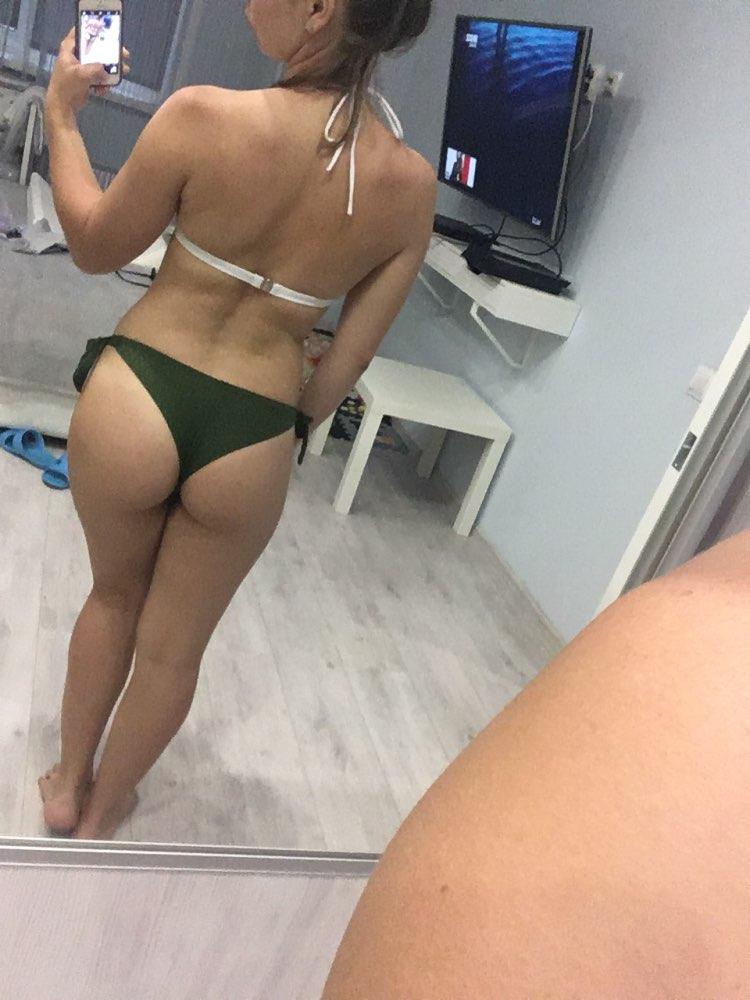 2019 Sexy Solid Thong Bikini Brazilian Cut Swimwear Women Bottom Adjustable Briefs Swimsuit Panties Underwear Thong Bathing Suit
