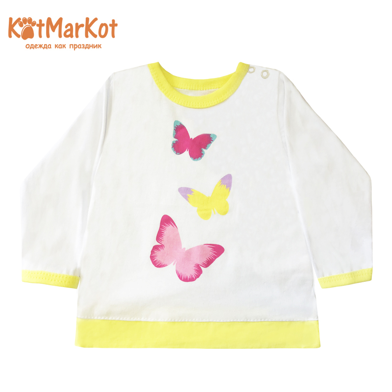Blouse Kotmarkot 7853 children clothing cotton for baby girls kid clothes blouse for children kotmarkot 7685 kid clothes