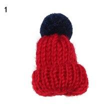 Модные трикотажные pom hat брошь Булавки Для женщин рождественское платье шарф Интимные аксессуары хиджаб шарф брохес пальто Платье-свитер Зажимы