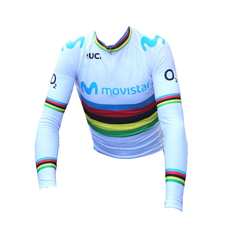 6c0bbc5cc049 winter fleece 2018 uci world tour champion team M cycling jersey warmer  bike cloth MTB Ropa Ciclismo Bicycle maillot jersey only
