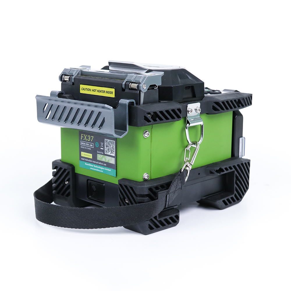Image 5 - Komshine FX37 core alignment 6 motors fusion splicer with 7s splicing time FTTH optical fiber joint machine-in Fiber Optic Equipments from Cellphones & Telecommunications