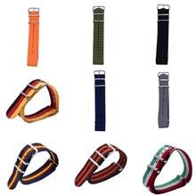 Watch Band Strap Nylon Mesh Watchbands Women Men Sport Watches Belt Accessories Relojes Hombre 2017 22mm Canvas