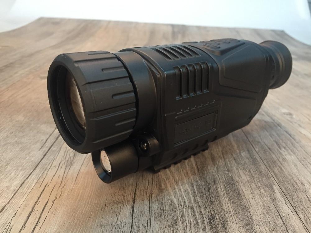Eagleeye Tactical 5X 디지털 나이트 비전 핸드 헬드 적외선 디지털 나이트 비전 검색 모든 검은 물체 gs27-0012