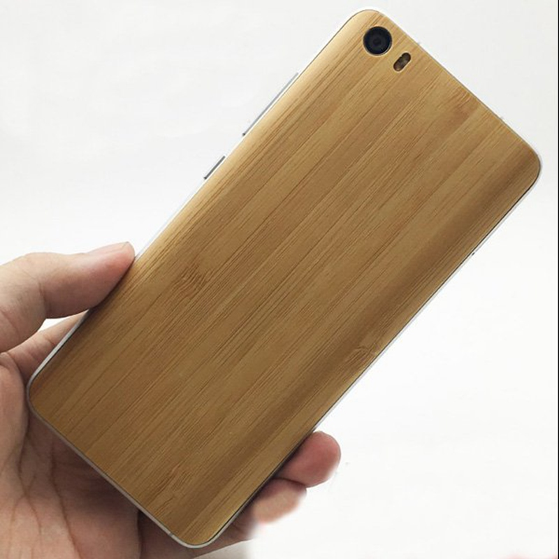Replacement Case For Xiaomi Mi5 Natural Wood Bamboo + PC Pattern Back Battery Cover Mobile Phone Housing Parts Cover 5.15 Inch ...