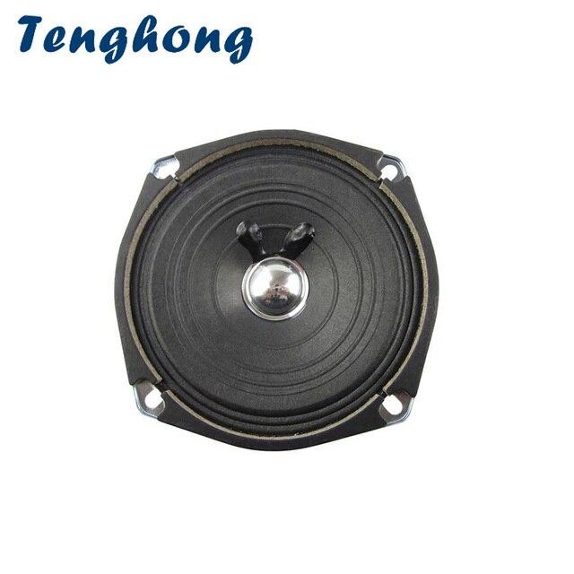 Tenghong 5Inch Audio Speakers 120MM 4Ohm 5W Full Range Speaker Unit Horn  For Outdoor Keyboard Ceiling Sound Loudspeaker DIY