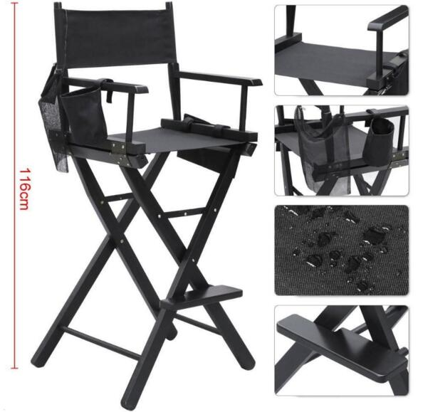 Tall Fishing Chair Deck Covers Adelaide Makeup Artist Director Wood Folding With Side Bag Camping In Chairs From Sports Entertainment On Aliexpress Com Alibaba Group
