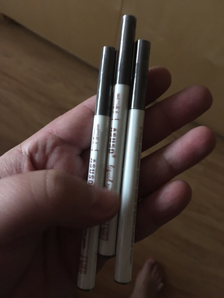 Eyebrow Microblading Tattoo Ink Pen ***FREE 3Pcs eyebrow shaper*** photo review