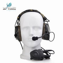Z Tactical Comtac Peltor Headset Z054 combat I Tactical noise reduction Earphone with Z112 PTT stand rrb version(China)