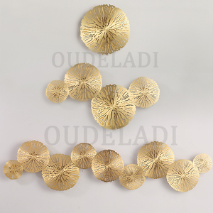 Image 2 - Modern LED Wall Sconce Light Copper hollow lotus leaf wall lamps Bedroom Kitchen Stair Home Fixtures Industrial Decor Luminaire