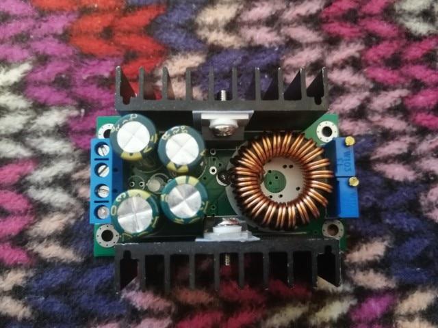 DC-DC CC CV Buck Converter Volt Step Down 12V 19V 24V Car Laptop Power Supply Module 7-40V to 1.2-35V 8A 300W with LED Indicator