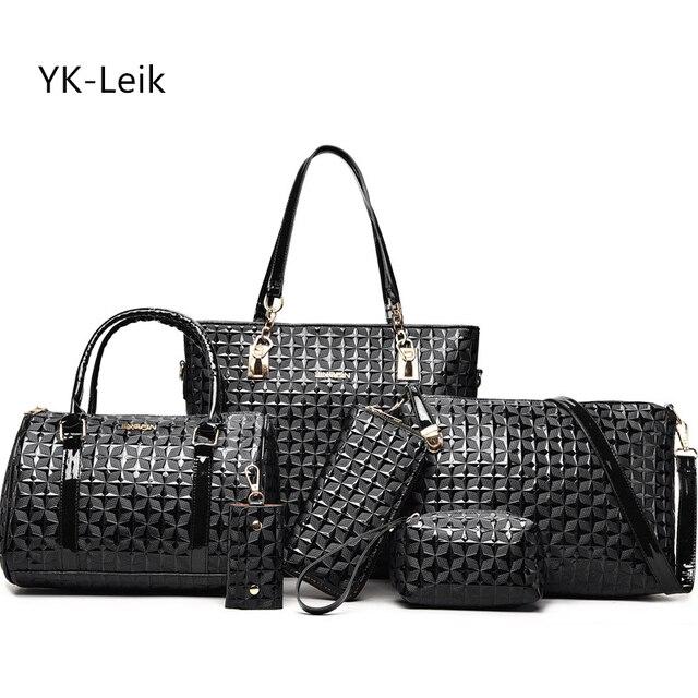 YK-Leik marca 2017 estate ultimo stile donne borsa di lusso casual bag Donna  cuoio 1ad3a1681eb