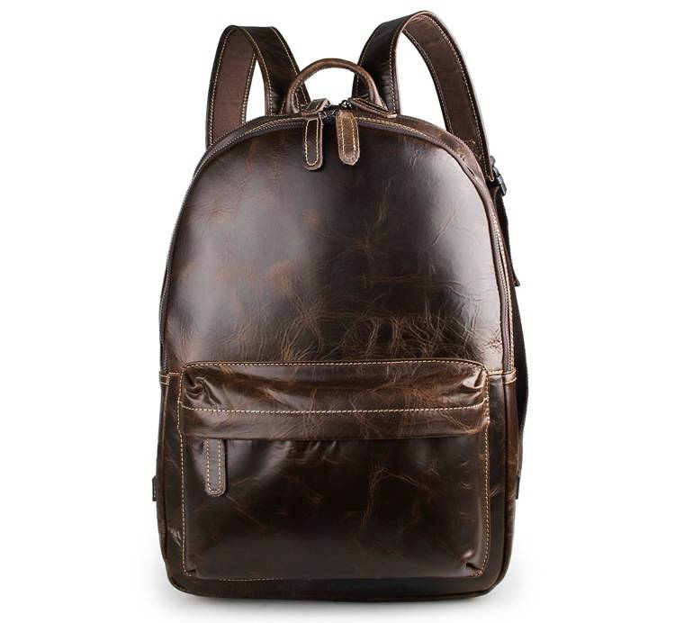 Man Women Travel Backpack School Bags 2018 Student Fashion Casual Unisex Cow Leather 17 Laptop Backpacks Pack Back Book Bags  - buy with discount