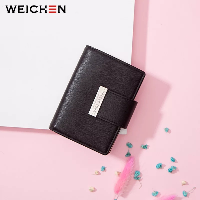 WEICHEN 20 Slots Women Card Holders Brand Designer Ladies Credit Card Wallet Female Fashion Leather Business Card Cover Case NEW photo review