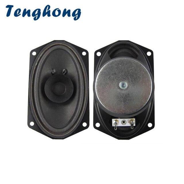 Tenghong 2 adet 813 tekne Oval tam aralıklı hoparlör 4Ohm 5W kabarcık havzası hoparlör ünitesi 88 anahtar klavye yayın ses hoparlör DIY