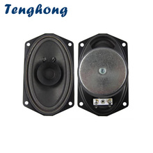 Tenghong 2pcs 813 Boat Oval Full Range Speaker 4Ohm 5W Bubble Basin Speaker Unit For 88 Key Keyboard Broadcast Audio Speaker DIY