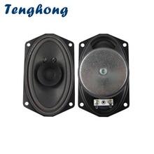 Tenghong 2pcs 813 Boat Oval Full Range Speaker 4Ohm 5W Bubble Basin Speaker Unit For 88 Key Keyboard Broadcast Audio Speaker DIY