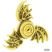 2017 Clover Magic Eye Dragon Bat Fidget  Spinner Adhd Stress Relief Toy For Kids With Autism Quality Control