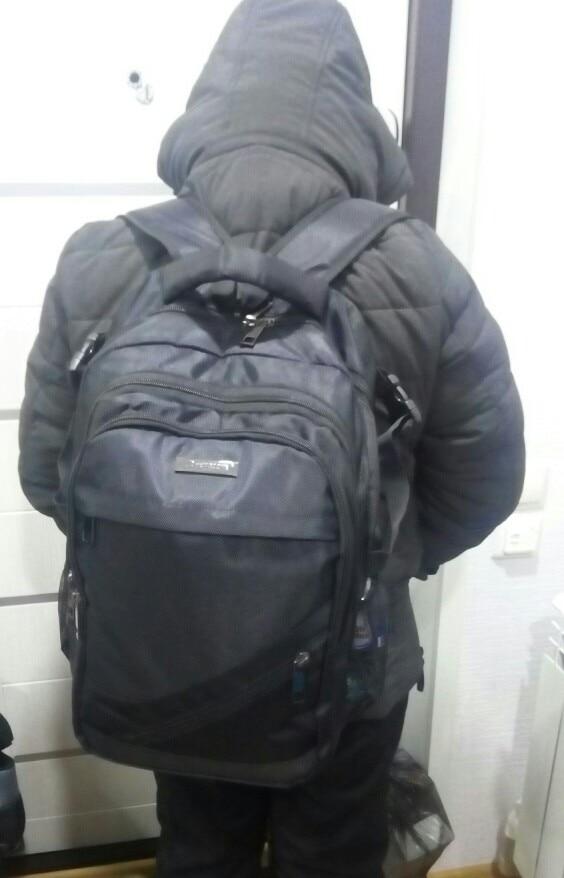 2019 Men Backpack Multifunction Men Shoulder Bag Business Casual Tourist Anti-theft Waterproof 15.6 inch Laptop Men Backpack photo review