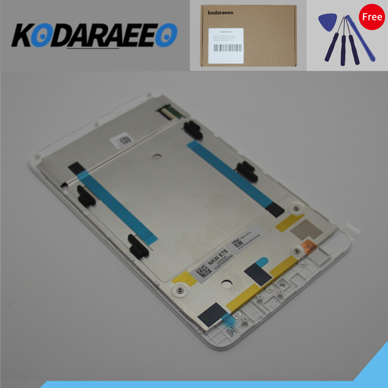 kodaraeeo For New Acer Iconia one 7 B1-750 B1 750 7-inch LCD Display Touch Screen Assembly Replacement with frame new 7 inch case for acer iconia one 7 b1 730 9cm b1 730hd 9 5cm lcd display panel touch screen digitizer assembly free ship