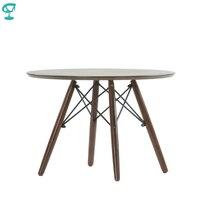 Tn12brown barneo TN-12 folheado interior mesa de centro para o resto móveis mesa de jantar cor marrom frete grátis na rússia