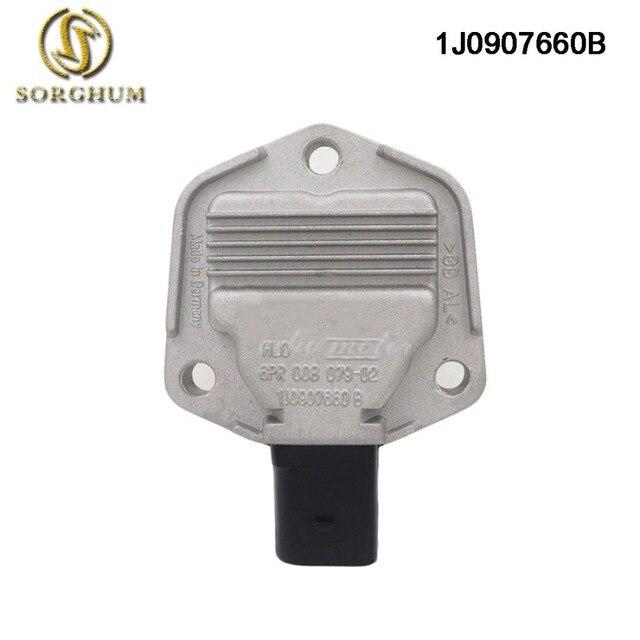 Aceite nuevo Sensor de nivel de 1J0907660 B 1J0907660B para VW Jetta Bora Golf MK4 Passat B5 ajuste AUDI A4 A6 SKODA asiento 1J0 907 B 660