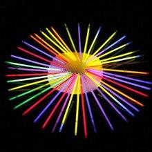 10pcs set Funny Glow Fluorescence Light Sticks Bracelets Necklaces Neon for Children luminous LED font b