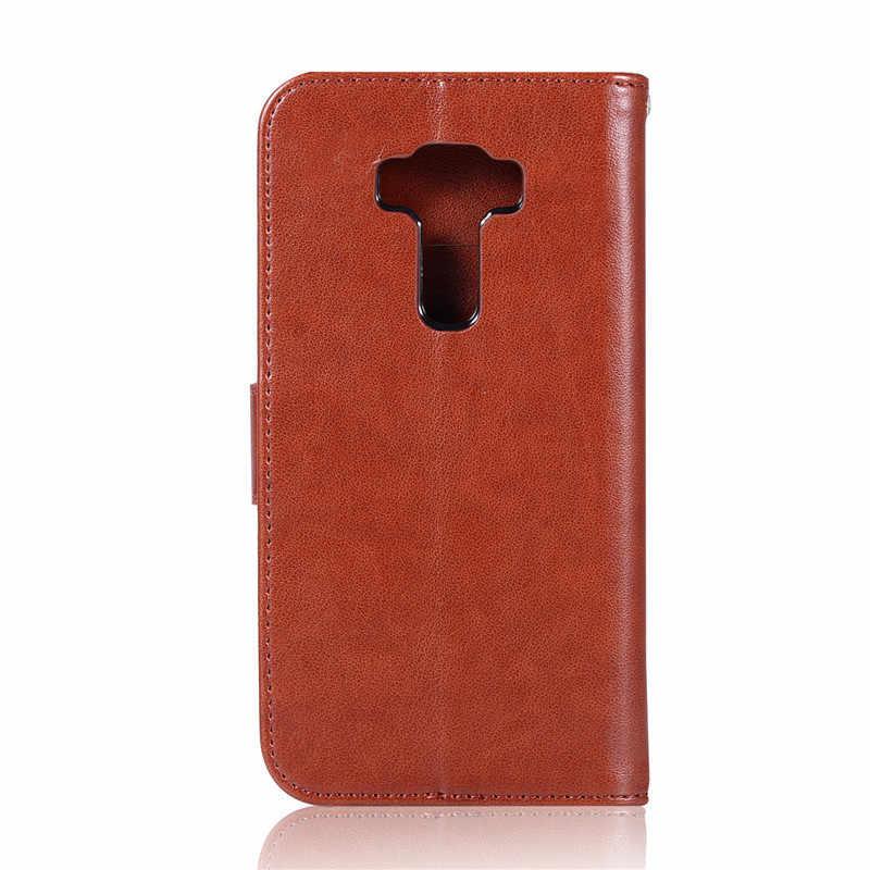 Asus Zenfone 5 3 ZE520KL ケース Asus Z017D ケースカバーフリップ PU Asus Zenfone 5 用 3 ZE520KL ZE ZE520 520 520KL KL ケース