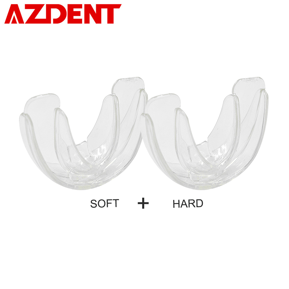 AZDENT 1 Pcs Pro Silicone Tooth Orthodontic Dental Appliance Trainer Alignment Braces Mouthpieces For Teeth Straight/Alignment