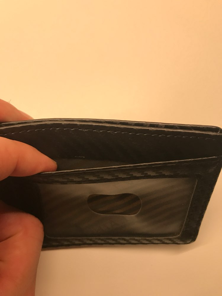 THINKTHENDO Simple Card Holder Slim Bank Credit Card ID Cards Case Bag Wallet Hot photo review