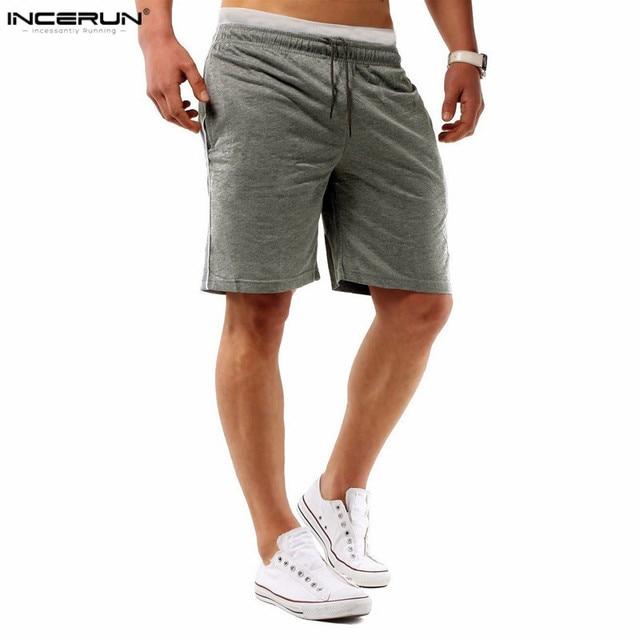 Hombre Casual Anchos Pantalones Cortos Running Bermudas Skinny Shorts NrFpteP1s